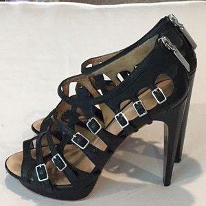 L.A.M.B. Cage sandals